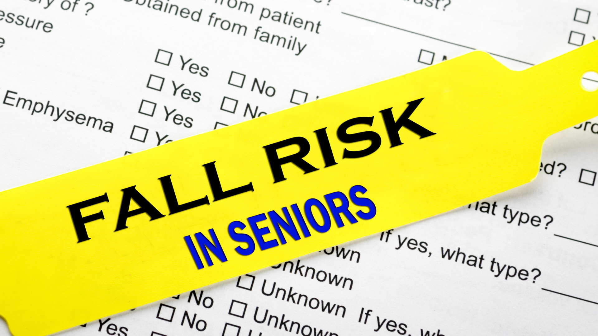 Read more about the article FALL PREVENTION – CAN PT HELP?